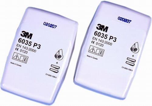 Daļiņu filtrs P3R 3M 6035