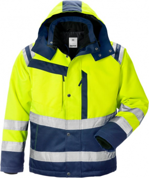 Winter men's jacket Fristad Hi-Vis 119630 (4043 PP)