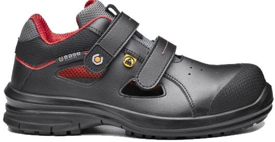 Ādas sandales Skat B955 S1P
