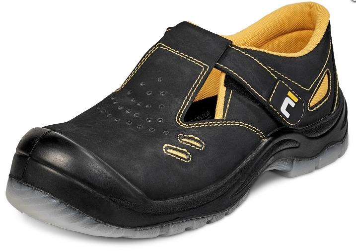 Nubukādas sandales Black knight S1P