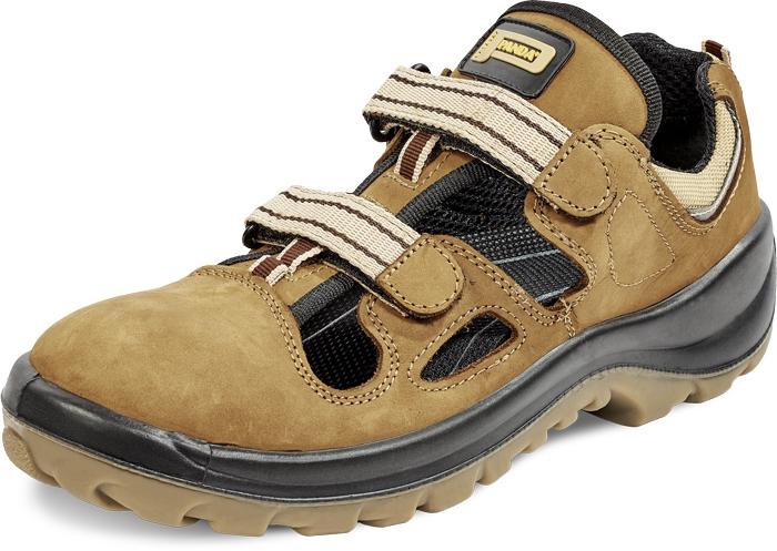 Nubukādas sandales Dino S1P SRC