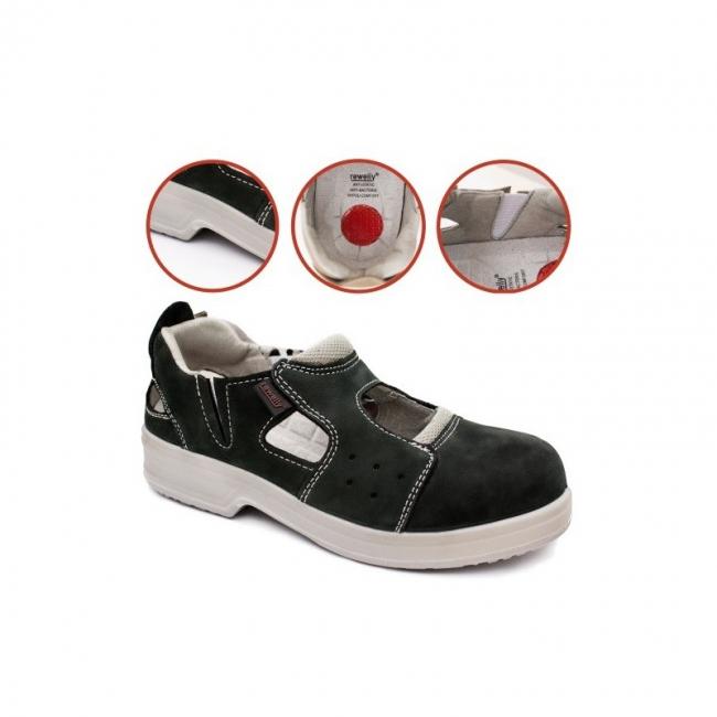 Sieviešu nubukādas sandales GDS116 Euga S1
