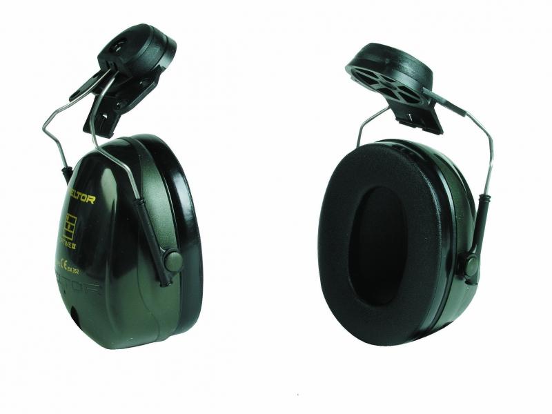 Aizsargaustiņas aizsargķiverei Peltor Optime II H520P3E 31db