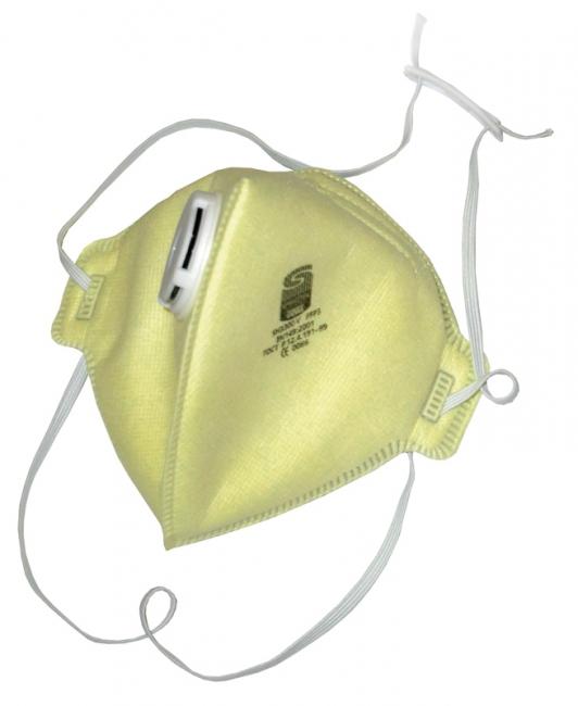 Respirators ar izelpas vārstu FFP3 Spirotek SH3300