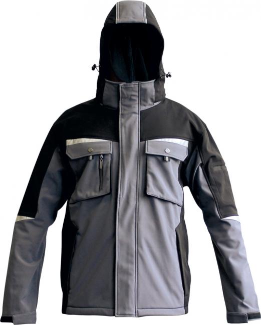 Vīriešu Softshell jaka ar kapuci Allyn