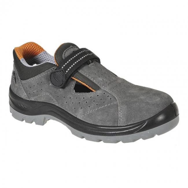 Zamšādas sandales Obra Steelite FW42 S1